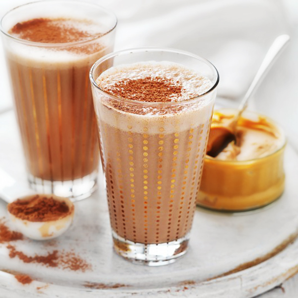 Banana Peanut Butter Chocolate Smoothie